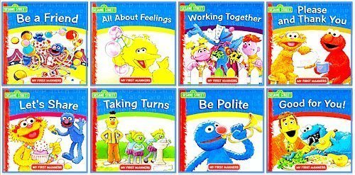 Working Together My First Manners Sesame Street