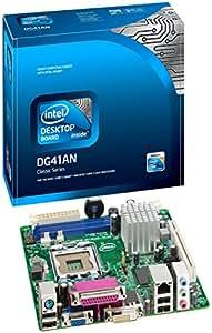 Intel DG41AN Socket T (LGA 775) Mini ITX - Placa base (Intel, Socket T (LGA 775), Serial ATA II, Gigabit Ethernet, Realtek RTL8111E, PC)