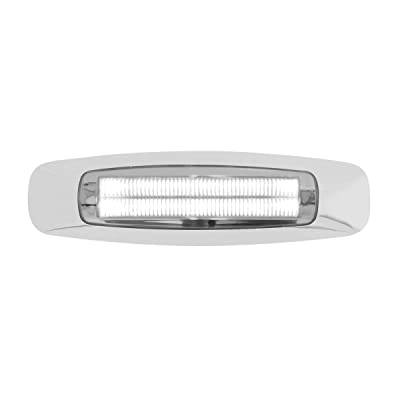 "GG Grand General 74744 Light (5-3/4"" Rectangle Prime White/Clear 4 LED Dual Function Int.): Automotive"