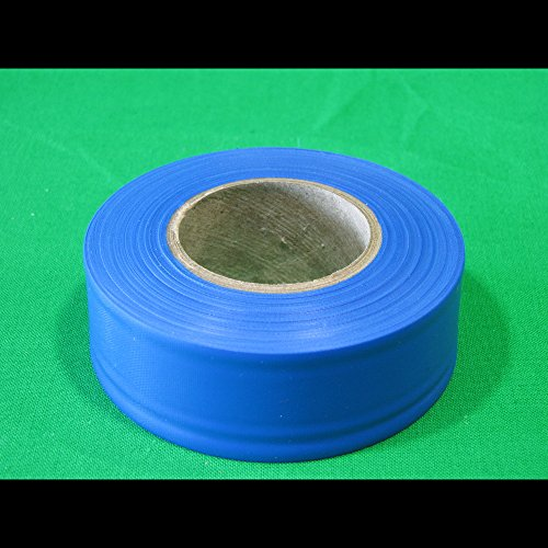 Flagging 300' Roll - Swanson CMB30 1 3/16-Inch by 300-Feet Coarse Matte Roll Flagging, Blue