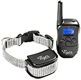Shock Collar for Dogs Small to Large, Dog Training Collar with Remote, K9 Pet Training Collar, Bark Training Collar 330 yd range, Rechargeable and Waterproof with Beep, Vibrate & Shock Training Modes