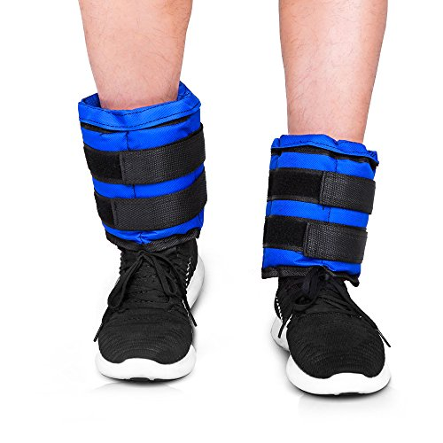 Best Adjustable Wrist Weights: 2.2 Lb Adjustable Ankle Weights Running Pair Of Leg Wrist