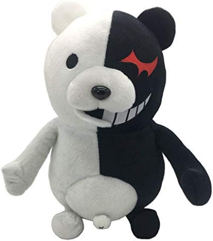Game Danganronpa Monokuma Bear Monomi Rabiit Plush Stuffed Doll Toy Kids Gift