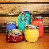 5 Piece Mason Jar Desk Set, Boho Chic Desk Set, Rustic Office Decor, Mason Jar Bathroom Set, Mason Jar Office Organizer, Mason Jar Bathroom Accessories Review