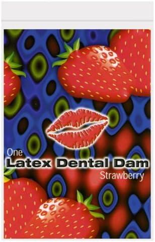 Trust Trustex Dental Dam 12 Quality Max 67% OFF inspection Pack Strawberry