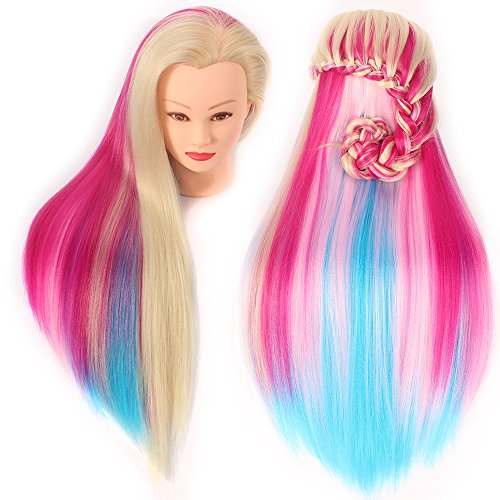 doll heads for styling hair 26 quot 28 quot mannequin hair styling manikin 6156