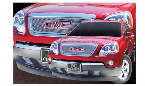 GMC ACADIA 2007-2012 FINE MESH CHROME UPPER GRILLE GRILL