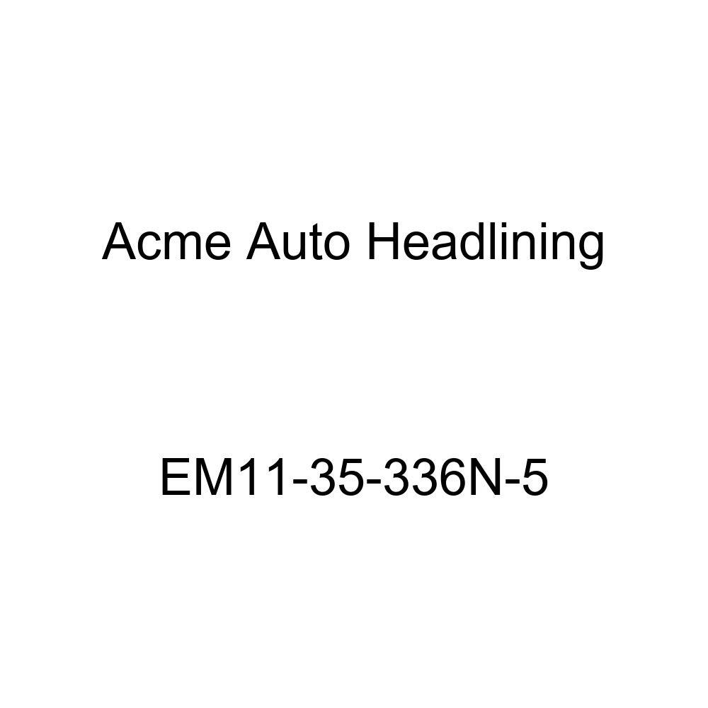 1941-42 Cadillac Series 63 4 Door Limousine - 8 Bow Acme Auto Headlining EM11-35-336N-5 Beige Replacement Headliner