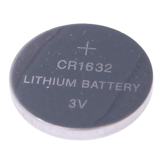 Pack de 6 Pilas CR1632 3V Alcalinas, Tipo Botón de Litio en Blister, Electrónica Rey®: Amazon.es: Electrónica