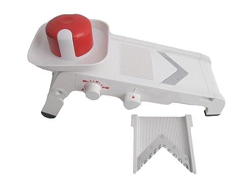 Tupperware Mandolina para cortar, A12109598, plástico, blanco/rojo, 35 x 18