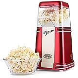 NOSTALGIA Machine à Popcorn Retro avec boîtier transparent à pop corn …