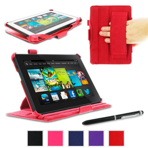 rooCASE Amazon Kindle Fire HD 7 Case - (2013 Previous Gen...