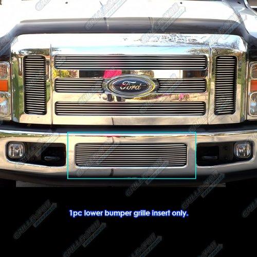 For 08-10 Ford F-250/F-350 Super Duty Bumper Billet Grille #N19-A82356F (Bumper Billet Grille F250)