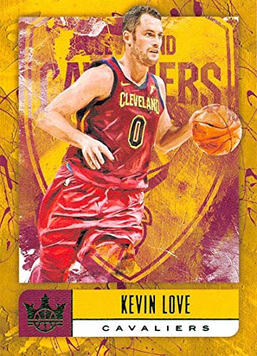 2018-19 Court Kings Jade Basketball #66 Kevin Love Cleveland Cavaliers Official NBA Trading Card From Panini America