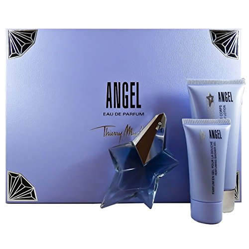 Thierry Mugler Angel 3 Piece Fragrance Set for Women (Angel By Thierry Mugler)