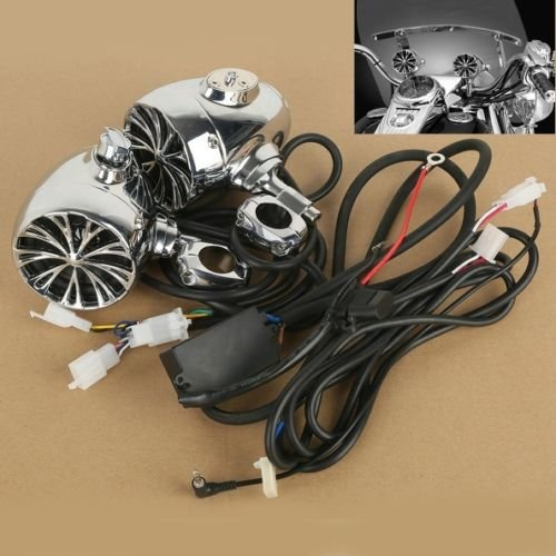 The Sound of Chrome Speaker System for Harley Davidson Cruiser 1