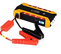 CAPTIANKN Portable Car Jump Starter 600A Peak 20000Mah (Up To 6.0L Gas Or 3.0L Diesel Engine) Auto Battery Booster, Power Bank And Phone Charger With 4 USB Ports,Car Charger