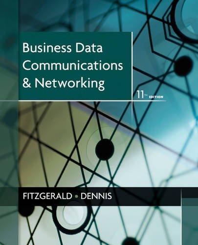 Business Data Communications+Networking