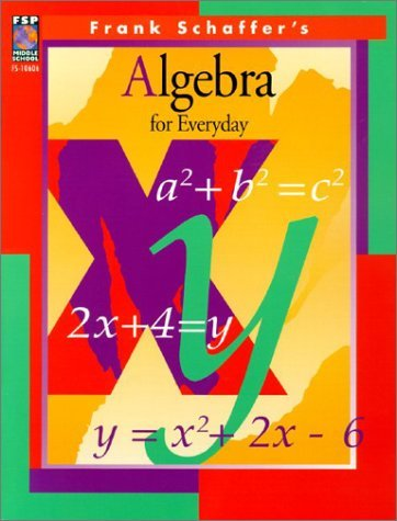 Algebra for Everyday by Susan Dean (1997-12-23)