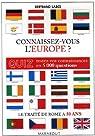 Connaissez-vous l'Europe ? par Labes