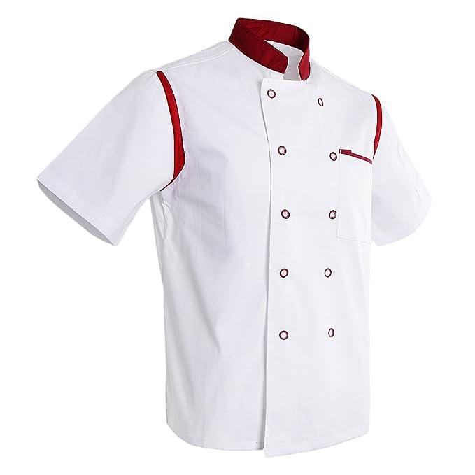 D Dolity Giacca da Cuoco 9c8a31d2e136