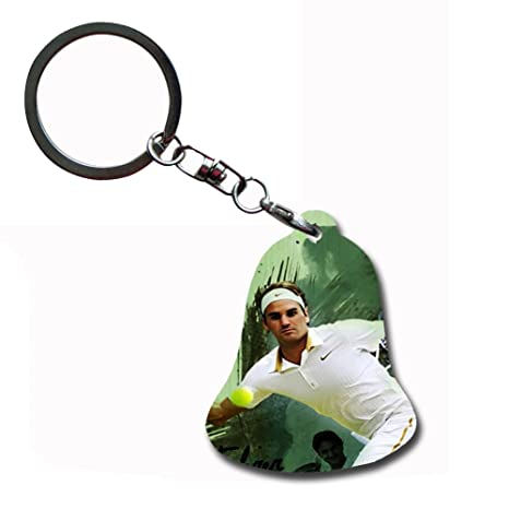 Amazon.com: Generic Friendly Key Chain With Roger Federer ...