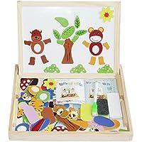 Balai magnet Puzzle Box, ahşap çocuklar için