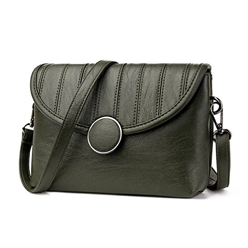 Bolso De Señora Girl Messenger Bag Bolso De Hombro Simple Manera Wild Small Square Bag E