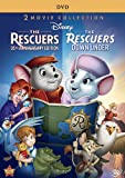The Rescuers 35th Anniversary Edition And Rescuers Down Under 2-Movie Collection - 2-Disc DVD