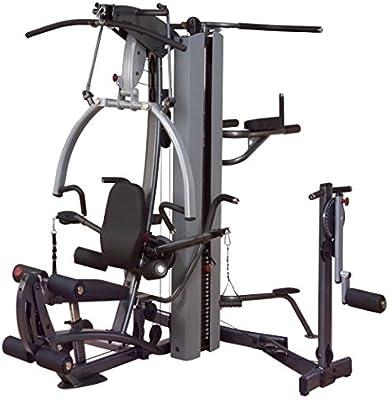 Body-Solid Fusion 600 gimnasio en casa (F600/2) con libre multi ...