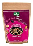 Good Spirit Energy Trail Mix from Basse Alive, 8.8oz Bag Mixed Nuts, Fruit & Craisins, Trail Mix with Cranberries, Raisins, Apples, Walnuts, Almonds - Fresh Nuts for Healthy Snacks or Healthy Desserts