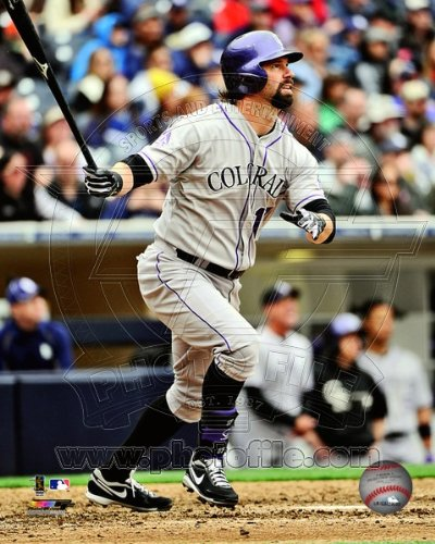 - Todd Helton Colorado Rockies 2013 MLB Action Photo 8x10