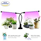 Cheap MIXC LED Grow Lamp Light, 18W USB Dimmable Indoor Plant Growing Light with 5-level Brightness 3/6/12H Timer Adjustable 360 Degree Gooseneck for Seedling Tray Succulent Gardening Plants