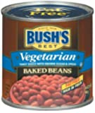 Bush's Best Vegetarian Fat Free Baked Beans 16 oz (Pack of 12)