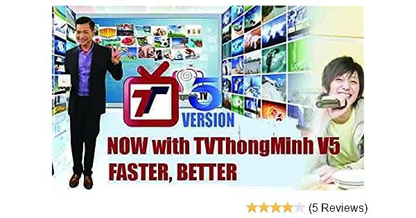 TV Thong Minh Version 5: Xem 80 Kenh TV Viet