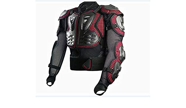 Amazon.com: BEESCLOVER Moto Cross Armor Motor Bike Jacket ...