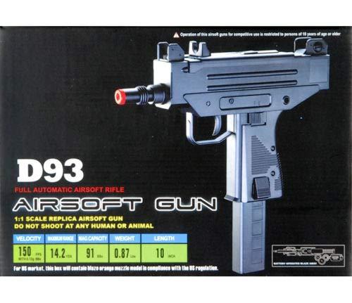 AirSoft Full AUTO Electric AEG MAC 10 11 Uzi Rifle Hand Gun Pistol w/ 6mm BB
