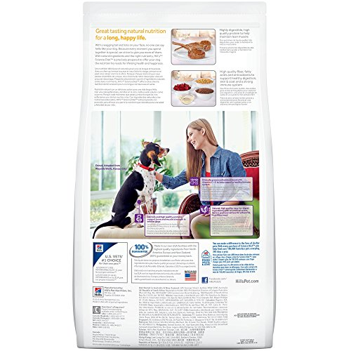 Hill's Science Diet Adult Small & Toy Breed Dog Food, Lamb Meal & Rice Recipe Dry Dog Food, 15.5 lb Bag by Hill's Science Diet (Image #5)