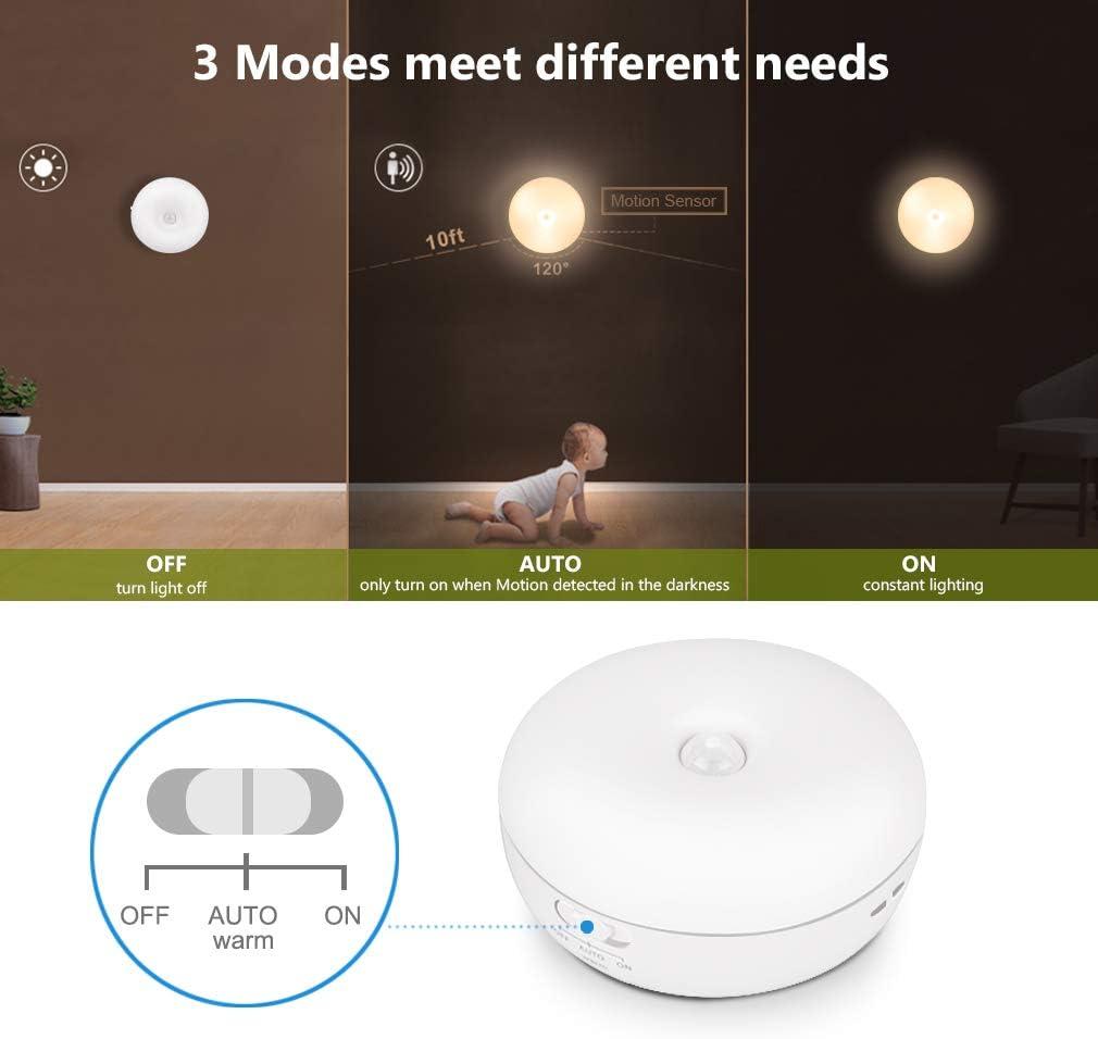 Te-Rich Luz Nocturna LED para niños con Sensor Movimiento,Lámpara ...