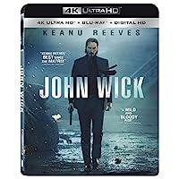 Deals on John Wick 4K Ultra HD + Blu-ray