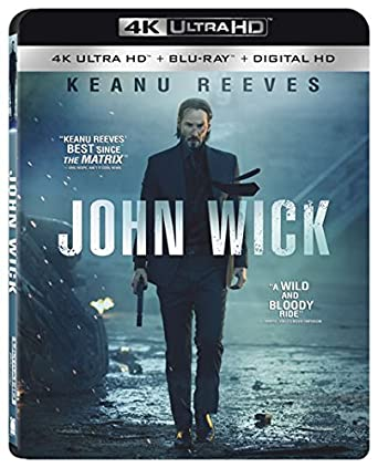 Amazon com: John Wick 4K Ultra HD [Blu-ray + Digital HD]: John Wick