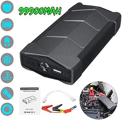 Homeve - Cargador de batería portátil para Coche (12 V ...