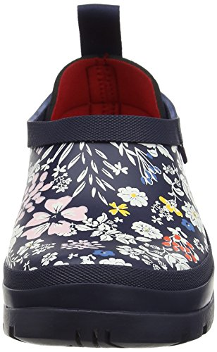 Joules Womens Popons Rainboot French Navy Ria Ditsy