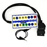EXCOUP OBDII Protocol Detector and Breakout Box OBD Diagnostic tool OBD line signal test car fault...