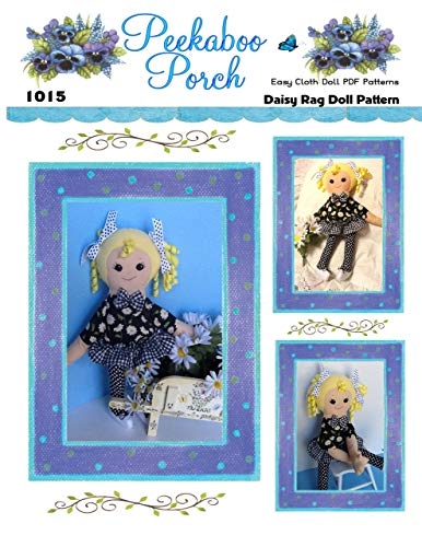 Rag Doll Sewing Patterns - Daisy 18