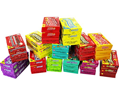 Candy Mix Individual Boxes of Ferrara Candy Favorites- Lemonhead, Applehead, Cherryhead, Red Hots, Boston Baked Beans and More Boxes of Bulk Candy (Mini -