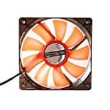 Prolimatech Red Vortex 12 LED - High Static Pressure and Airflow Fan (120mm)