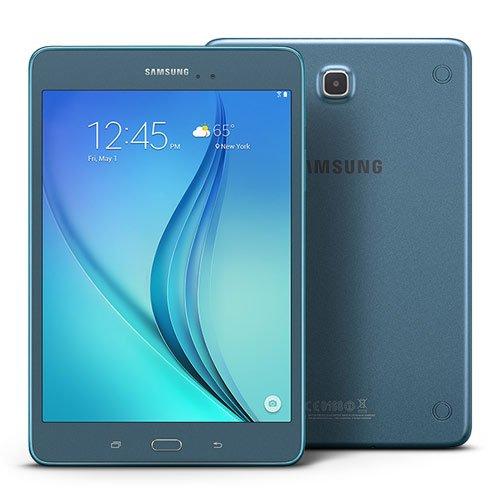 Samsung Galaxy Tab A 8.0'' 16GB (Wi-Fi), Smoky Blue (Certified Refurbished) by Samsung