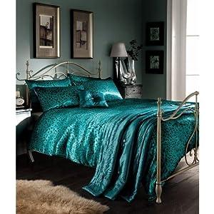 5pcs Leopard Animal Print Double Bed Duvet Cover Comforter