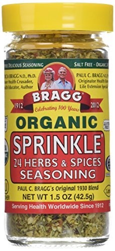 (Bragg Organic Sprinkle Seasoning 1.50 Ounces (2 Count))